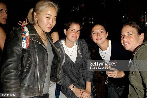 "Aya Kanai, Rebecca Resnick, Alex Wolf and Dana Barish attend Vanessa Carlton hosts the Cynthia Vincent ""Cubana"" Fall Holiday 2006 Shoe Collection at..."