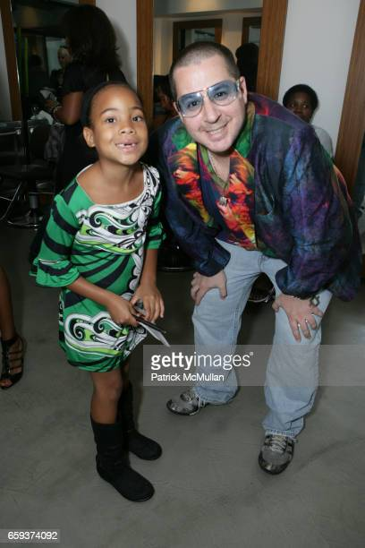 Aya Taylor and Noah G Pop attend HAIR RULES SALON Opening at 828 9th Ave on September 15 2009 in New York City