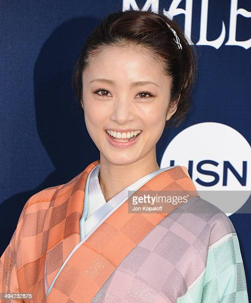 Aya Ueto arrives at the Los Angeles Premiere 'Maleficent' at the El Capitan Theatre on May 28 2014 in Hollywood California