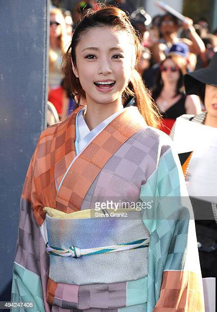Aya Ueto arrives at the World Premiere Of Disney's 'Maleficent' at the El Capitan Theatre on May 28 2014 in Hollywood California