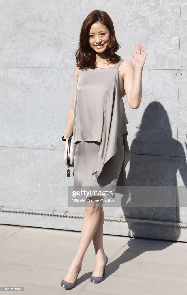Emporio Armani: Front Row - Milan Fashion Week Womenswear Autumn/Winter 2012/2013