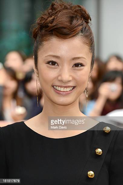 Aya Ueto attends the 'Thermae Romae' premiere during the 2012 Toronto International Film Festival at Roy Thomson Hall on September 8 2012 in Toronto...