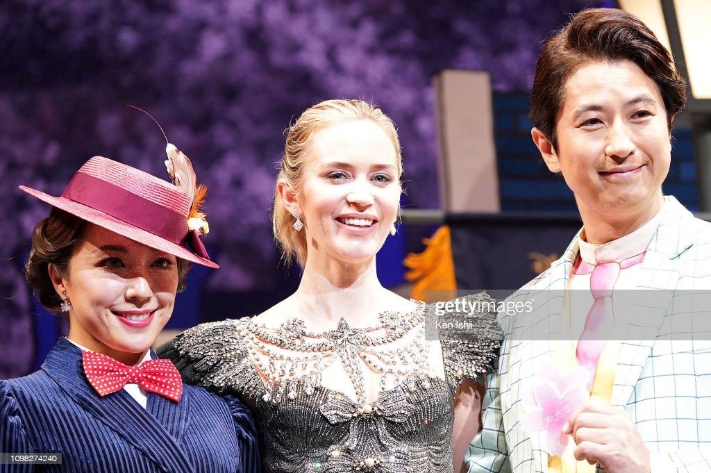 'Mary Poppins Returns' Premiere In Tokyo : News Photo