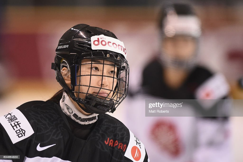 Japan v France - Women's Ice Hockey Olympic Qualification Final - Group D