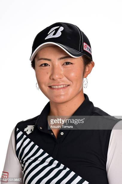 Ayaka Watanabe of Japan poses during the JLPGA portrait session on September 7 2020 in Kasaoka Okayama Japan
