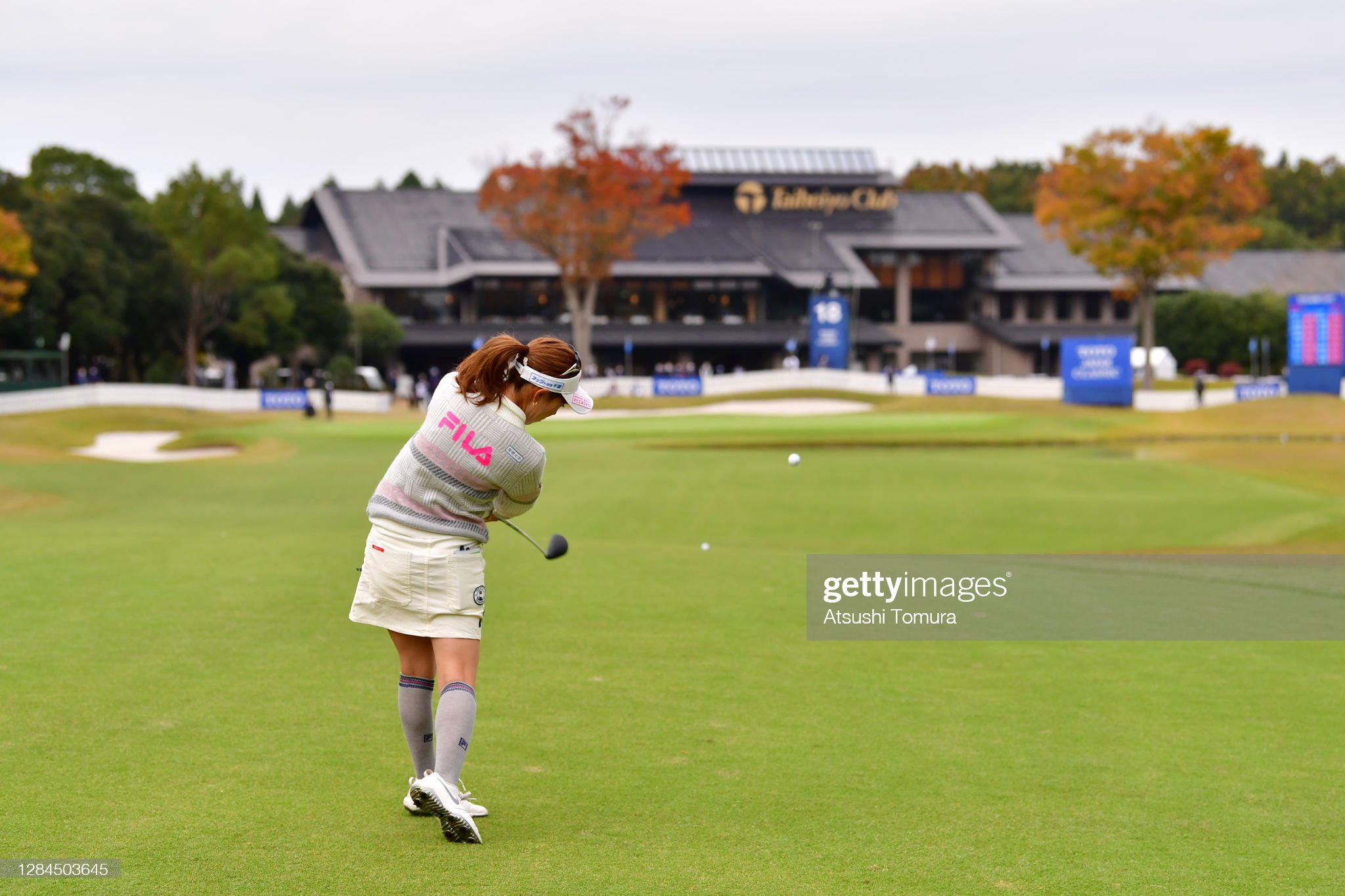 https://media.gettyimages.com/photos/ayako-kimura-of-japan-hits-her-second-shot-on-the-18th-hole-during-picture-id1284503645?s=2048x2048
