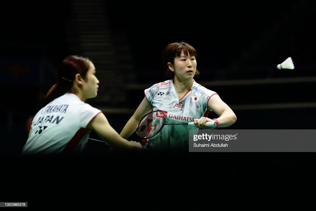 Badminton Singapore Open - Semi-Finals