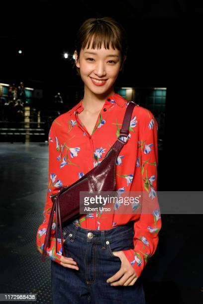 Ayame Goriki attends the Rag Bone front row during New York Fashion Week The Shows on September 06 2019 in New York City