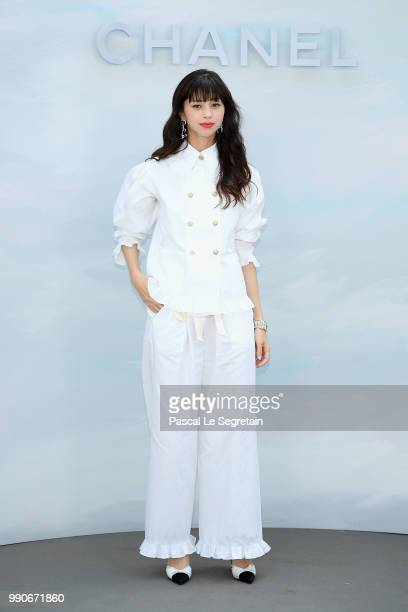 Ayami Nakajo attends the Chanel Haute Couture Fall Winter 2018/2019 show as part of Paris Fashion Week on July 3 2018 in Paris France