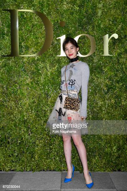 Ayana Miyamoto attends the Dior 2017 Spring/Summer Haute Coutour Collection Show at Ginza Six on April 19 2017 in Tokyo Japan