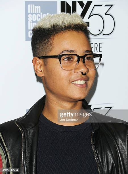 Ayana Tai Cheadle attends the 53rd New York Film Festival closing night gala presentation and premiere of Miles Ahead at Alice Tully Hall on October...