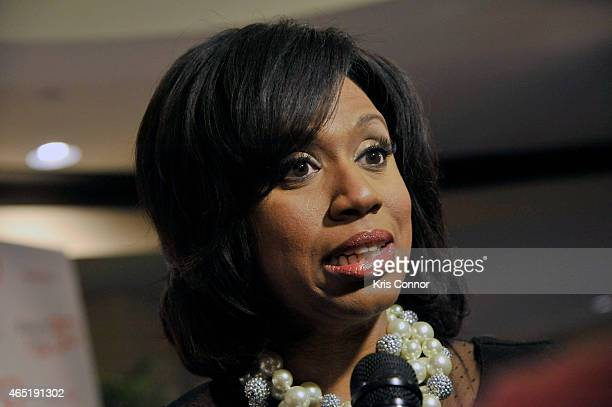Ayanna Pressley attends EMILY's List 30th Anniversary Gala at Washington Hilton on March 3 2015 in Washington DC