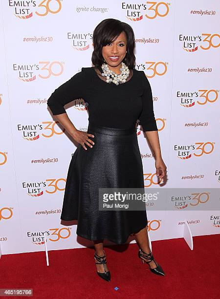 Ayanna Pressley attends the EMILY's List 30th Anniversary Gala at Hilton Washington Hotel on March 3 2015 in Washington DC