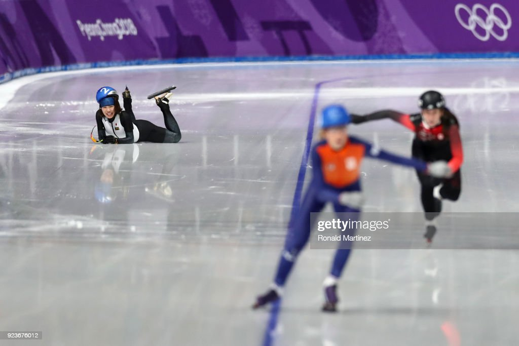 Speed Skating - Winter Olympics Day 15