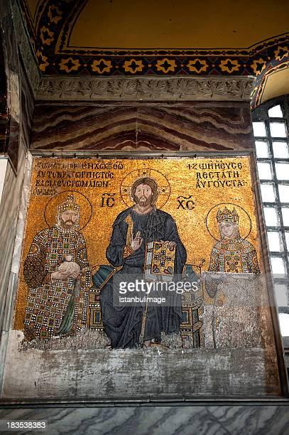 ayasofya wall mosaic