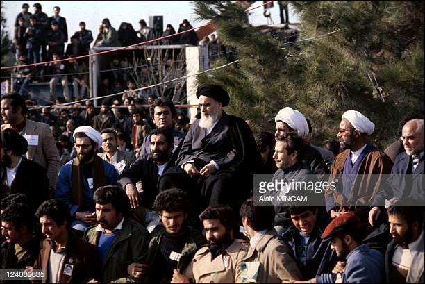 Ayatollah Khomeini in Iran in 1979