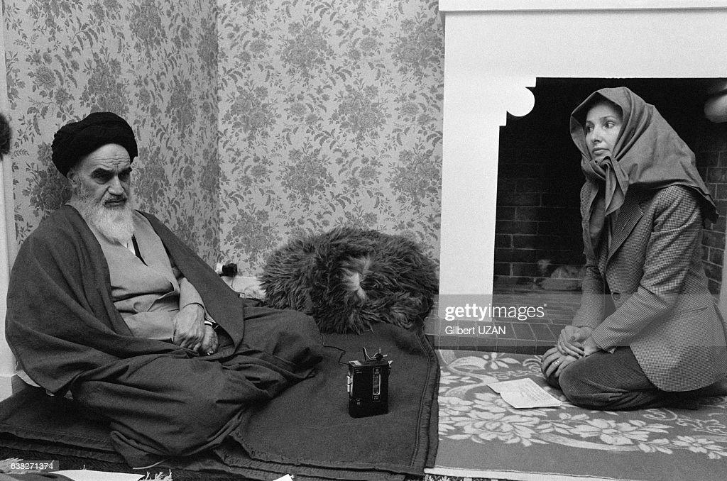 L'ayatollah Khomeini à Neauphle-le-Château en 1979 : Foto di attualità
