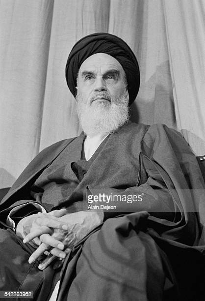 Ayatollah Khomeini Presents New Government After the Iranian Revolution