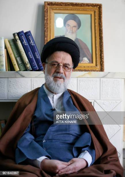 Ayatollah Seyyed Hossein Moussavi Tabrizi a former chief prosecutor and twotime parliamentarian speaks to AFP in an interview in the holy city of Qom...