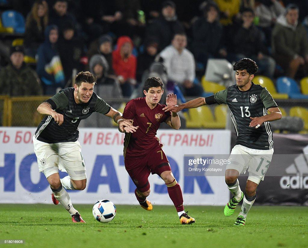 Russia U21 v Germany U21 - 2017 UEFA European U21 Championships Qualifier : News Photo