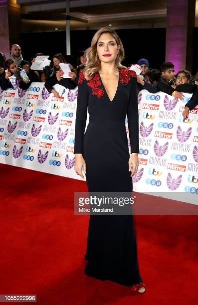 Ayda Field attends the Pride of Britain Awards 2018 at The Grosvenor House Hotel on October 29 2018 in London England