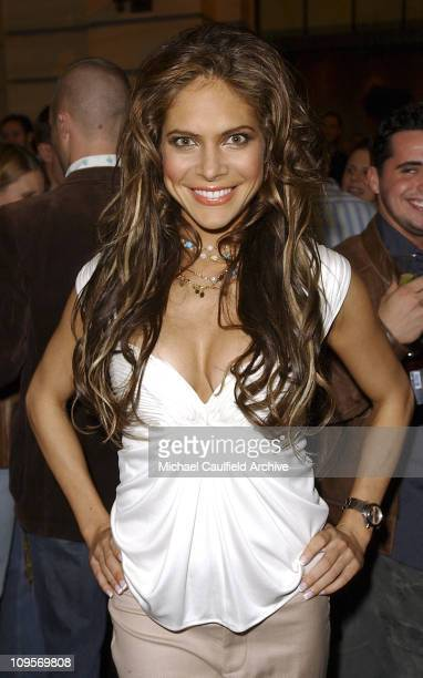 Ayda Field during The WB Television Network's 2005 All Star Party Inside at Warner Brother's Main Lot in Los Angeles California United States
