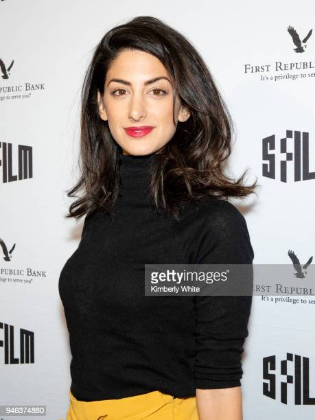 Ayden Mayeri attend the Alex Strangelove red carpet premiere during 2018 SFFILM at Victoria Theatre on April 14 2018 in San Francisco California