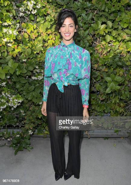Ayden Mayeri attends a special screening of the Netflix film Alex Strangelove at the Los Angeles LBGT Center and The Renberg Theatre on June 4 2018...