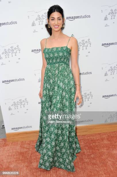 Ayden Mayeri attends Amazon Studios Premiere of 'Don't Worry He Wont Get Far On Foot' at ArcLight Hollywood on July 11 2018 in Hollywood California