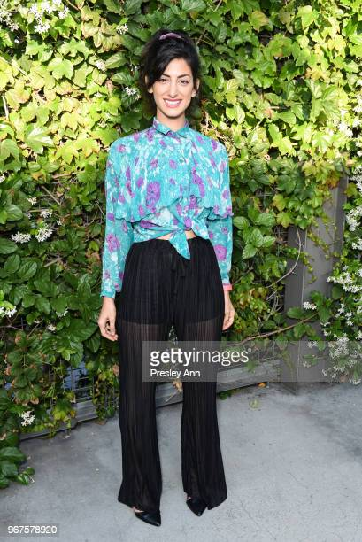 Ayden Mayeri attends Special Screening And QA For Netflix's 'Alex Strangelove' at Los Angeles LGBT Center on June 4 2018 in Los Angeles California