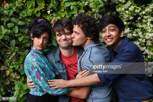 Ayden Mayeri Daniel Doheny Antonio Marziale and Nik Dodani attend Special Screening And QA For Netflix's 'Alex Strangelove' at Los Angeles LGBT...