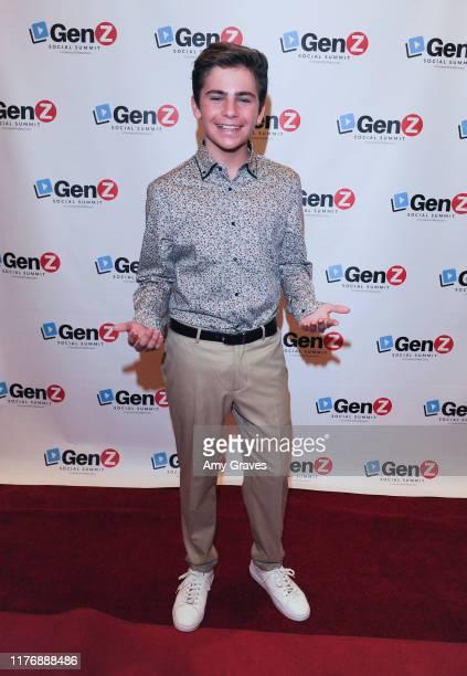 Ayden Mekus attends the ConnectHER Media presents The Gen Z Social Summit VIP Night event on October 18 2019 in Garden Grove California
