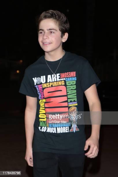 Ayden Mekus is seen on October 26 2019 in Los Angeles California