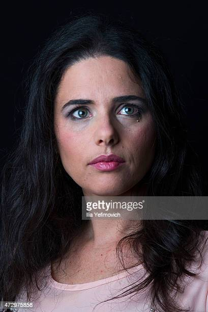 Ayelet Shaked poses for a portrait on February 24 2015 in Tel Aviv Israel Ayelet Shaked of the Bayit Yehudi party is the newly appointed Justice...