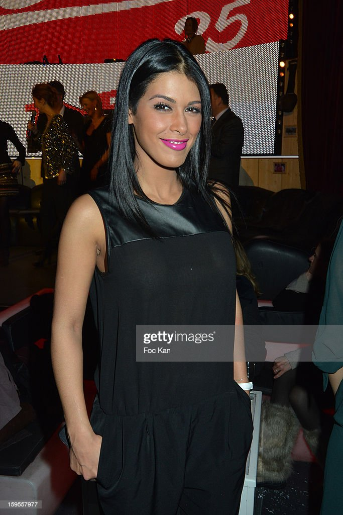 Ayem attends the Cherie 25 NRJ Party at VIP Room Theatre on January 15, 2013 in Paris, France.