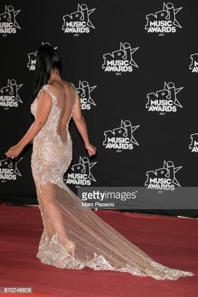 Ayem Nour attends the 19th 'NRJ Music Awards' ceremony on November 4 2017 in Cannes France