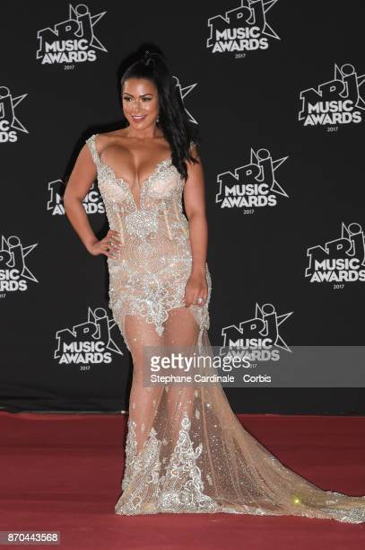 Ayem Nour attends the 19th NRJ Music Awards on November 4 2017 in Cannes France