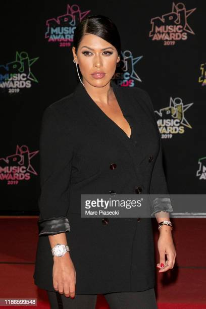 Ayem Nour attends the 21st NRJ Music Awards at Palais des Festivals on November 09, 2019 in Cannes, France.