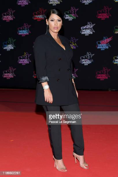 Ayem Nour attends the 21st NRJ Music Awards at Palais des Festivals on November 09 2019 in Cannes France