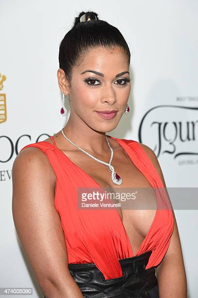 Ayem Nour attends the De Grisogono party during the 68th annual Cannes Film Festival on May 19 2015 in Cap d'Antibes France