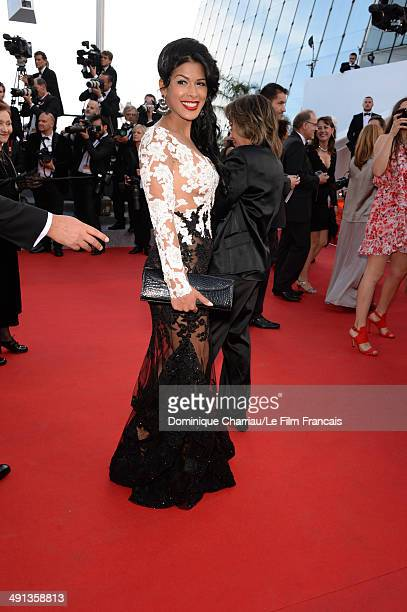 Ayem Nour attends the How To Train Your Dragon 2 Premiere at the 67th Annual Cannes Film Festival on May 16 2014 in Cannes France