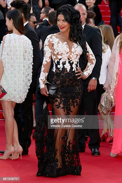 Ayem Nour attends the How To Train Your Dragon 2 premiere during the 67th Annual Cannes Film Festival on May 16 2014 in Cannes France