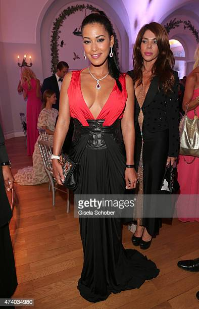 Ayem Nour during the De Grisogono party during the 68th annual Cannes Film Festival on May 19 2015 in Cap d'Antibes France