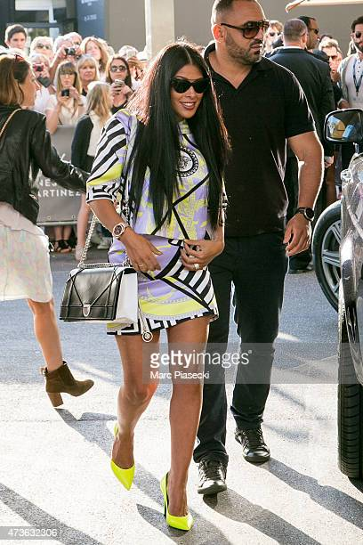 Ayem Nour is seen at the Grand Hyatt Cannes Hotel Martinez during the 68th annual Cannes Film Festival on May 16 2015 in Cannes France