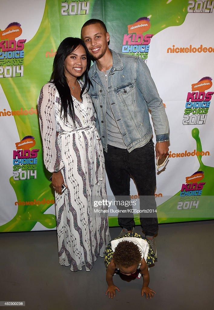 Nickelodeon Kids' Choice Sports Awards 2014  - Backstage & Audience : News Photo