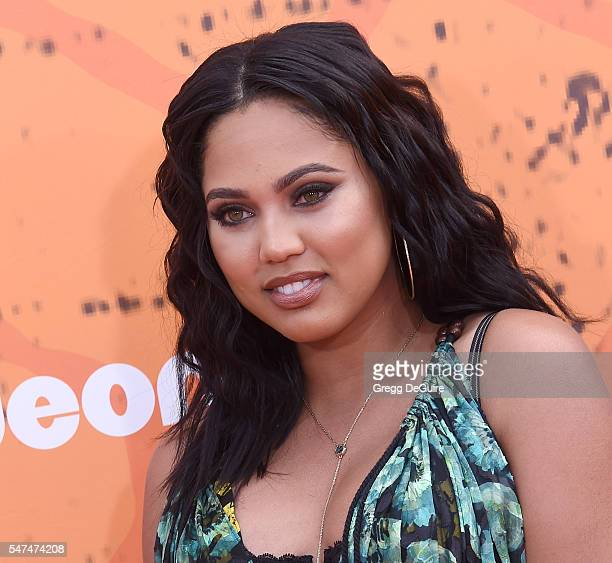 Ayesha Curry arrives at Nickelodeon Kids' Choice Sports Awards 2016 at UCLA's Pauley Pavilion on July 14 2016 in Westwood California