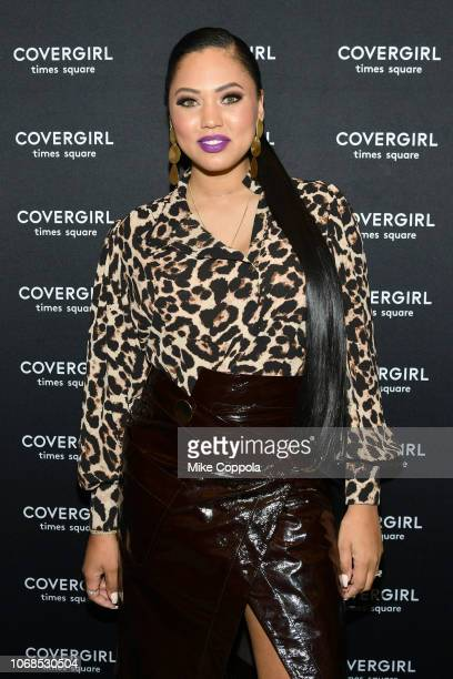 Ayesha Curry attends as COVERGIRL Opens The Doors To Their First Flagship Store An Experiential Makeup Playground on December 4 2018 in New York City