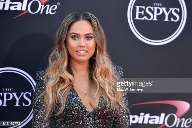Ayesha Curry attends The 2017 ESPYS at Microsoft Theater on July 12 2017 in Los Angeles California