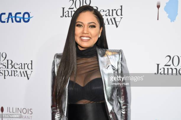 Ayesha Curry attends the 2019 James Beard Awards at Lyric Opera Of Chicago on May 06 2019 in Chicago Illinois