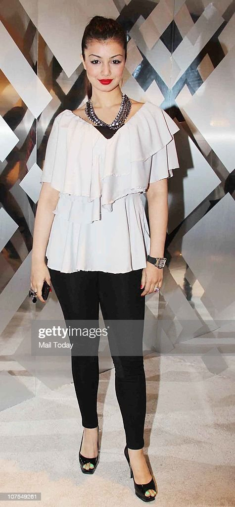 Ayesha Takia at an event hosted by Christopher Bailey in Mumbai to celebrate the brand Burberry`s presence in India